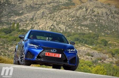 Lexus GS F, presentación y prueba en circuito