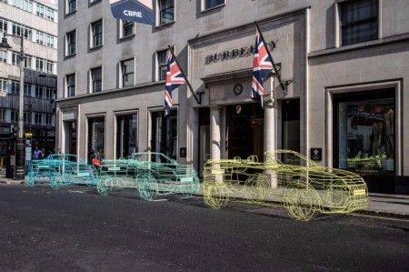 El Range Rover Evoque Cabrio se desvela en las calles de Londres... con trampa