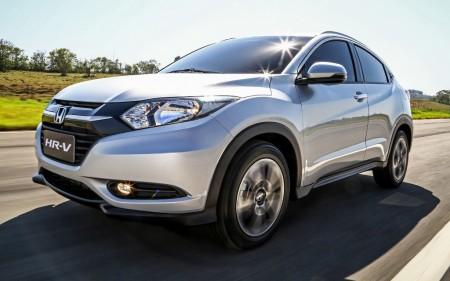 Brasil - Septiembre 2015: El Honda HR-V, en el Top 10