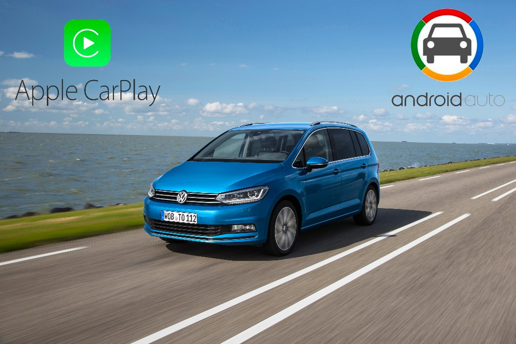 android auto y apple carplay integrados en el volkswagen. Black Bedroom Furniture Sets. Home Design Ideas