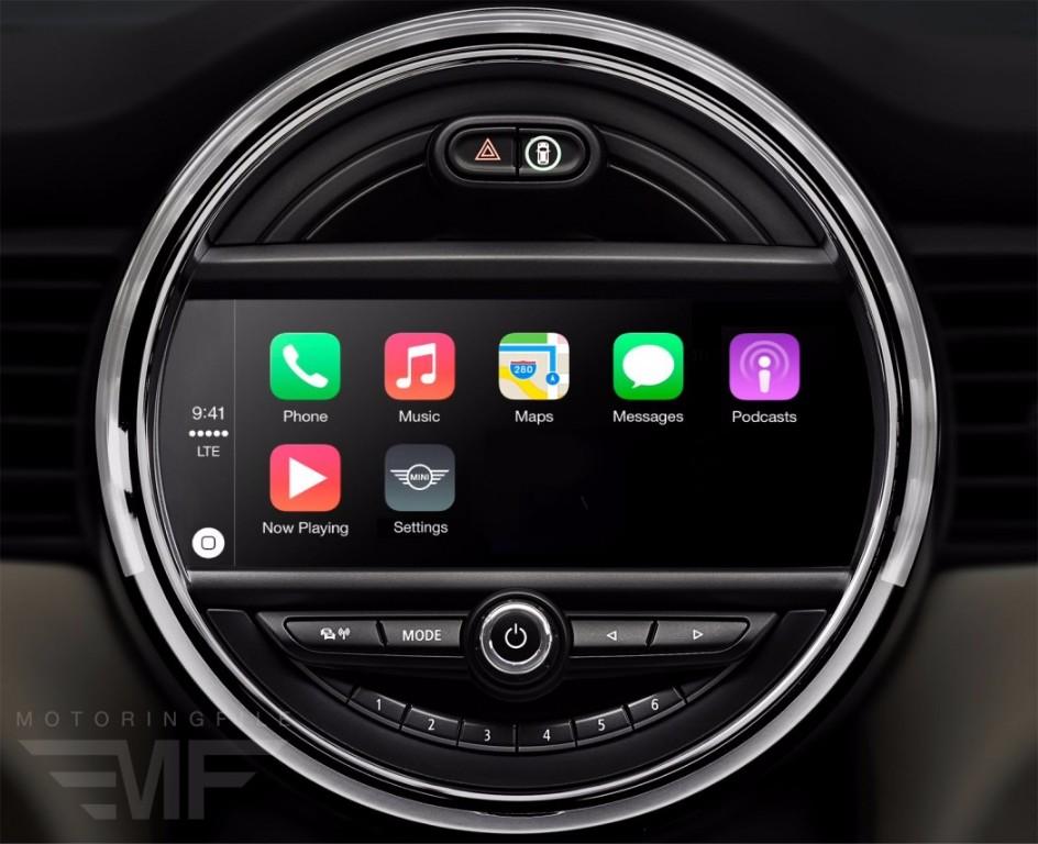 bmw y mini integrar n en sus sistemas android auto y apple carplay. Black Bedroom Furniture Sets. Home Design Ideas