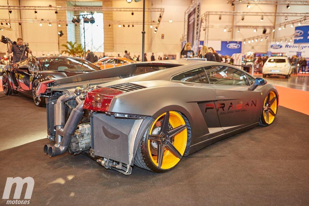 800 Cv Para El Lamborghini Gallardo Twin Turbo De Praban Motor Es