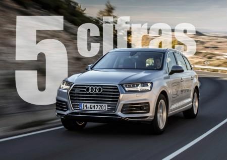 Audi Q7 e-tron quattro, en cinco cifras
