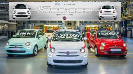 Fiat 500, todo un éxito de ventas: más de un millón y medio de unidades fabricadas