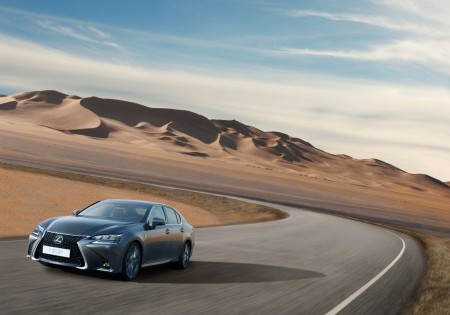 Nuevo Lexus GS 300h, revisado y mejorado en todos los aspectos