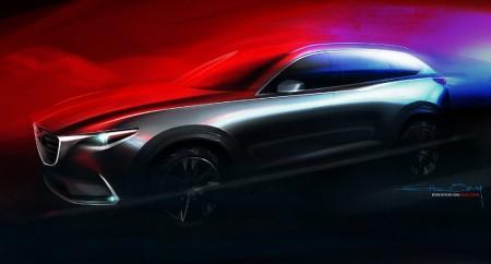 Mazda CX-9 2016, primera imagen de adelanto