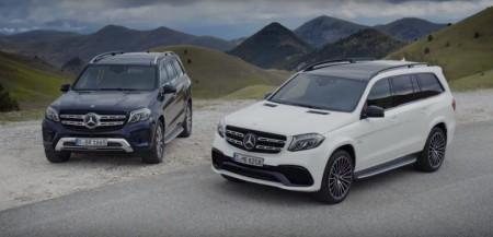 Mercedes GLS 2016, en vídeo