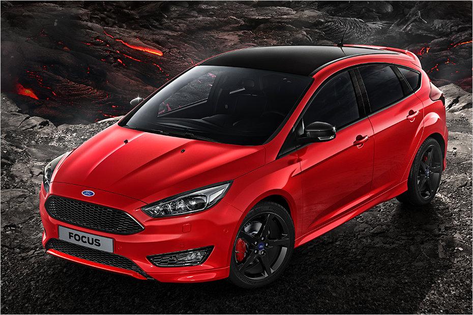 U6700 U9ad8 50  Red Ford Focus Rs Interior