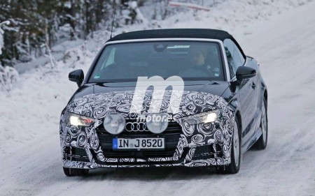 El Audi A3 Cabrio muestra su nueva cara para el año que viene