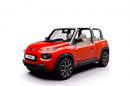 Citroën E-Mehari, el espíritu libre del siglo XXI llega el año que viene