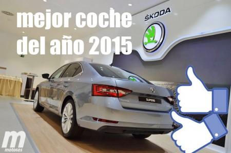 Coche del año 2015 para Motor.es: Skoda Superb