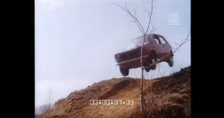 Este loco anuncio del Fiat 127 parece una Gymkhana de Ken Block