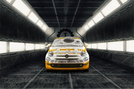 Los Fiat 500 de 'Star Wars': Garage Italia Customs crea los coches de R2-D2 y BB-8