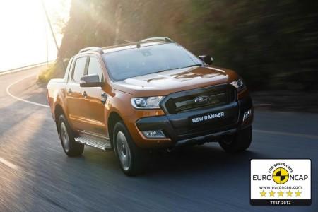 Ford Ranger, el primer pick-up con 5 estrellas EuroNCAP