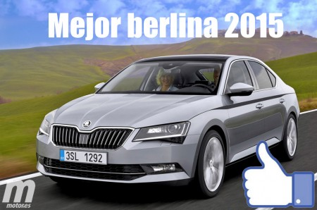 Mejor berlina 2015 para Motor.es: Skoda Superb