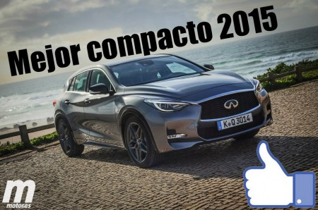 Mejor compacto 2015 para Motor.es: Infiniti Q30