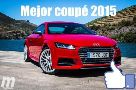 Mejor coupé 2015 para Motor.es: Audi TT