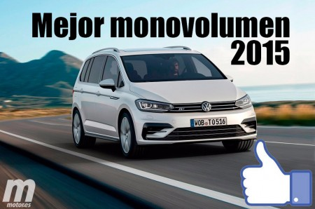 Mejor monovolumen 2015 para Motor.es: Volkswagen Touran