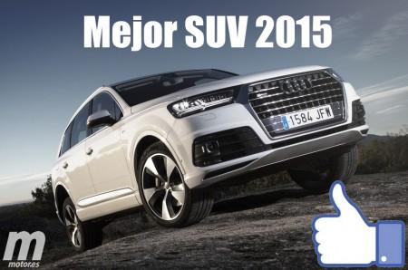 Mejor SUV 2015 para Motor.es: Audi Q7
