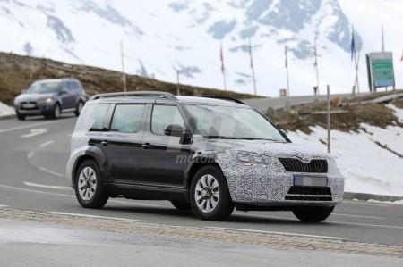 El Skoda Snowman, el primer SUV de Skoda, se presentará en el Salón de París