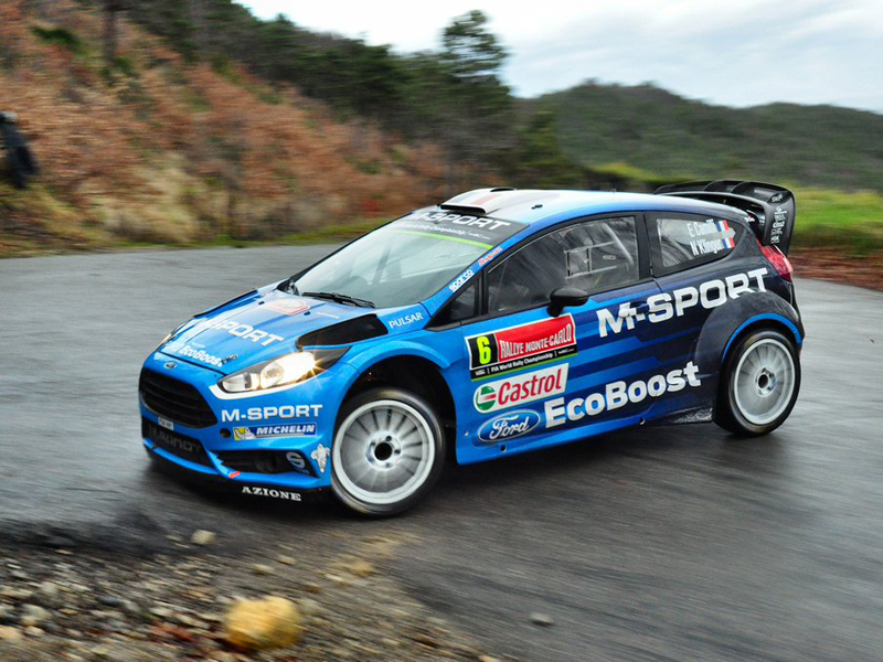 Un renovado M-Sport 'debuta' en el Rally de Montecarlo