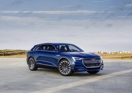 Audi Q6: el primer SUV eléctrico de Audi se fabricará en Bruselas en 2018