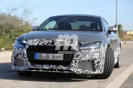 Audi TT RS 2016, vuelven a sonar los 400 CV en cinco cilindros