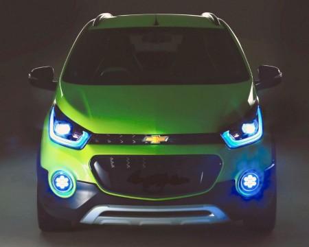 Chevrolet Beat Cross Concept, primera imagen del Spark crossover