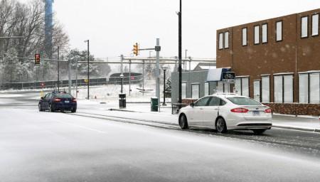 Los Ford Mondeo autónomos se prueban sobre la nieve