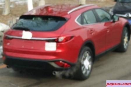 El Mazda CX-4 filtrado de nuevo: Descubre su trasera