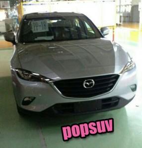 Mazda CX-4: el Mazda Koeru de producción, en sus primeras fotos al desnudo