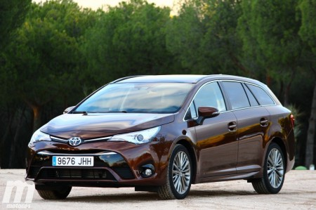 Prueba Toyota Avensis Touring Sports 150D Executive: Introducción (I)
