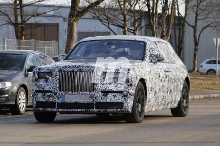 Fotos espía del Rolls Royce Phantom 2018