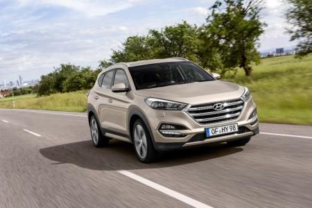 España - Diciembre 2015: El Hyundai Tucson apunta alto