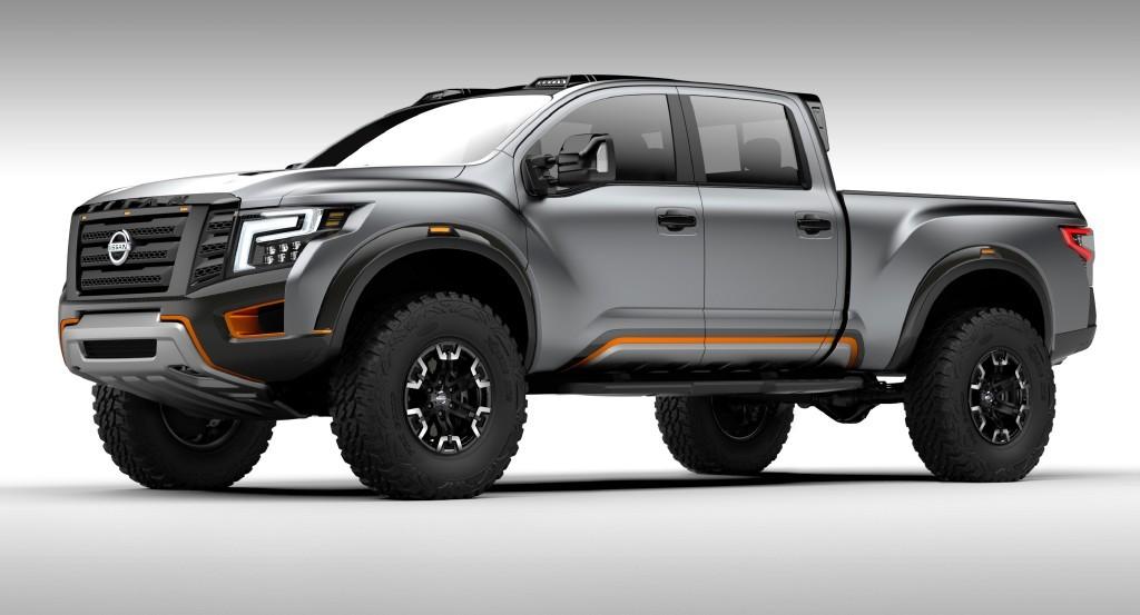 Nissan Titan Warrior Concept, la bestia japonesa que llega ...