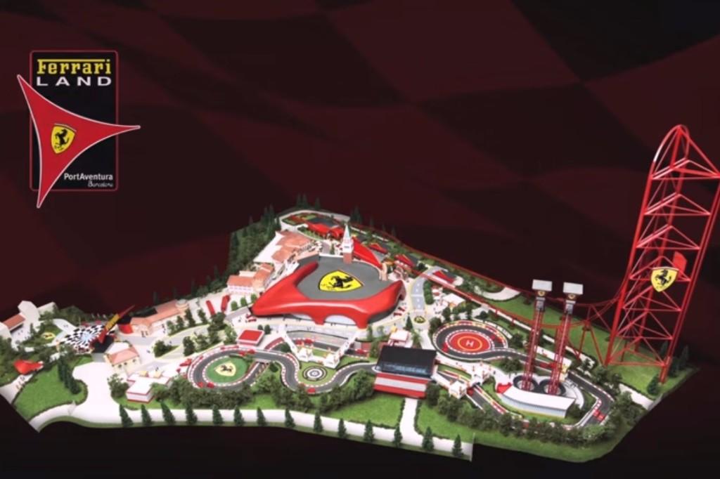Así será el parque temático de Ferrari en España