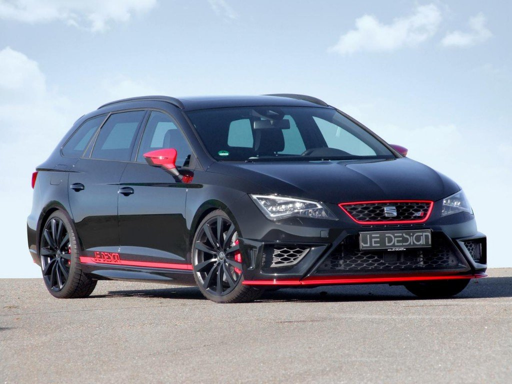 seat le n cupra st por je design 350 cv para el familiar. Black Bedroom Furniture Sets. Home Design Ideas