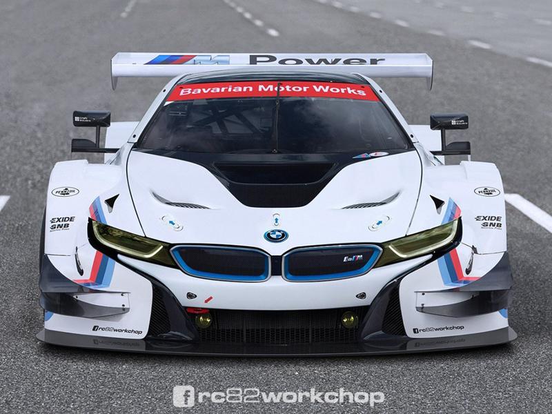 Imaginando un BMW i8 DTM - Motor.es
