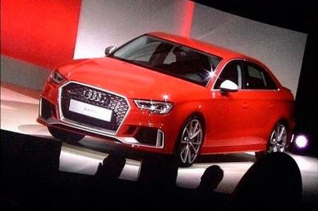 El Audi RS3 americano se filtra, aunque a nosotros nos interesa por otro motivo