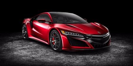 Ya está disponible el configurador del Acura NSX, el Honda NSX americano