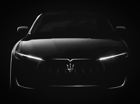 Maserati Levante, un adelanto en forma de teaser