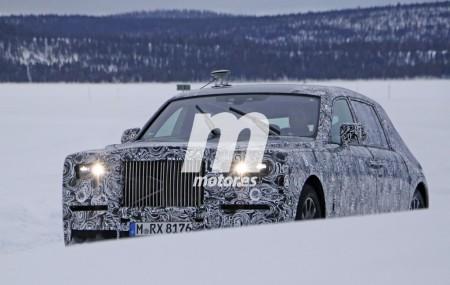 El Rolls-Royce Phantom 2018 también se prepara sobre la nieve