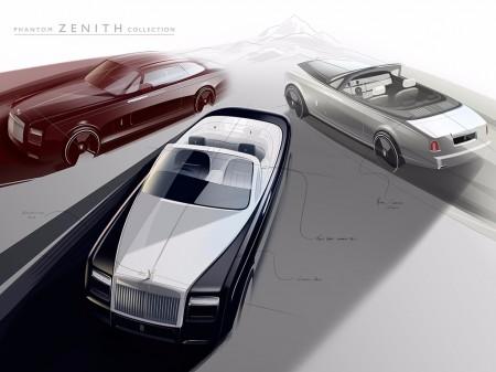 Rolls-Royce Phantom Zenith, balada de despedida para el Coupé y el Drophead