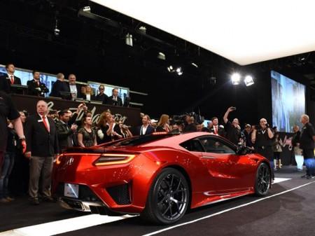 Subastada la primera unidad del Honda NSX 2016 por 1,2 millones