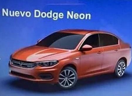 El Fiat Tipo sedán se convertirá en el nuevo Dodge Neon para México