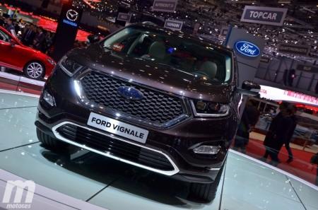 Los Ford Kuga, Edge y S-MAX se incorporan a la gama Vignale