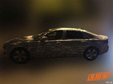 Jaguar XF L 2017, el XF largo se prepara para su debut en China