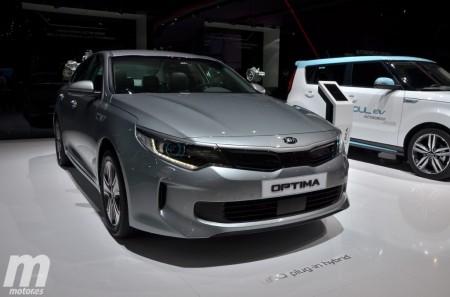 Saluda a los nuevos Kia Optima Hybrid y Kia Optima Plug-In Hybrid 2017