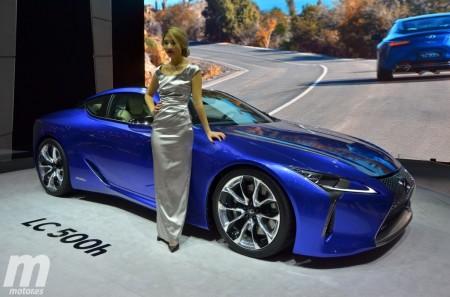 Lexus LC 500h, un coupé híbrido de lujo con 359 CV