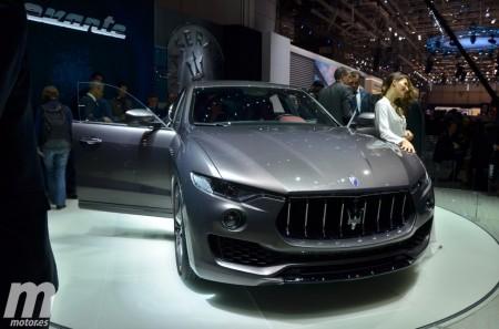 Maserati Levante, el SUV del tridente aparece en Ginebra
